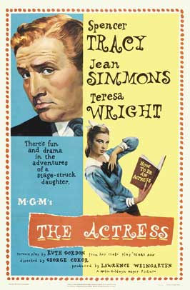 The Actress - 27 x 40 Movie Poster - Style B