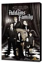The Addams Family - 11 x 17 Movie Poster - Style A - Museum Wrapped Canvas