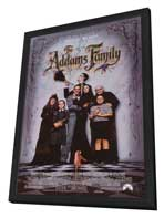 The Addams Family - 11 x 17 Movie Poster - Style A - in Deluxe Wood Frame
