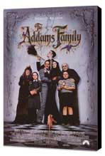 The Addams Family - 27 x 40 Movie Poster - Style A - Museum Wrapped Canvas