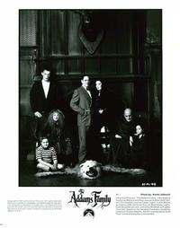 The Addams Family - 8 x 10 B&W Photo #8