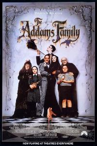 The Addams Family - 43 x 62 Movie Poster - Bus Shelter Style A