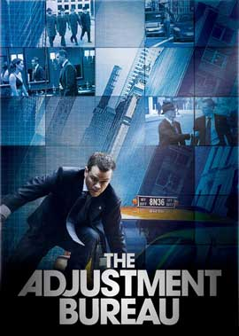 the adjustment bureau movie posters from movie poster shop. Black Bedroom Furniture Sets. Home Design Ideas