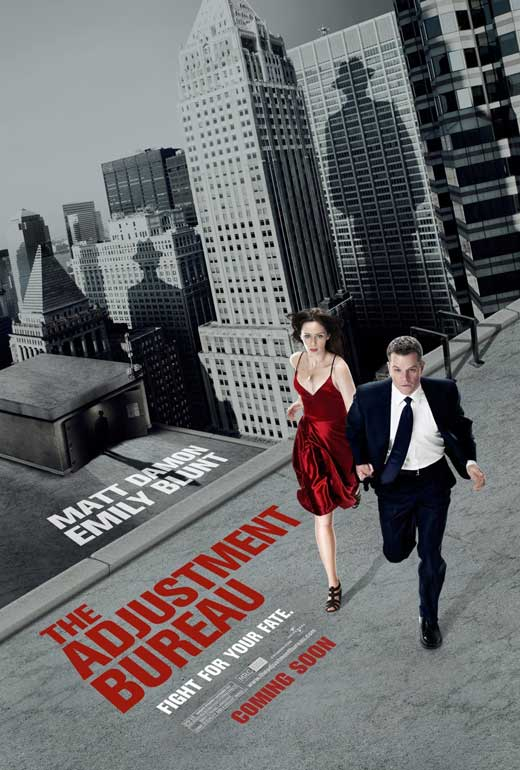 the adjustment bureau movie posters from movie poster shop