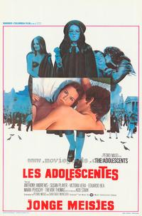 The Adolescents - 11 x 17 Movie Poster - Belgian Style A