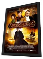 The Adventurer: The Curse of the Midas Box - 11 x 17 Movie Poster - Style A - in Deluxe Wood Frame