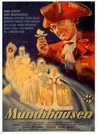 The Adventures of Baron Munchausen - 11 x 17 Movie Poster - German Style A