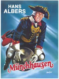 The Adventures of Baron Munchausen - 27 x 40 Movie Poster - Style A