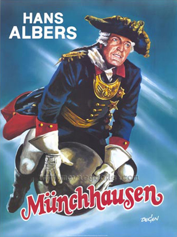 The Adventures Of Baron Munchausen Movie Posters From