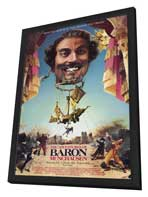 The Adventures of Baron Munchausen - 11 x 17 Movie Poster - Style A - in Deluxe Wood Frame