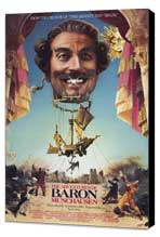 The Adventures of Baron Munchausen - 27 x 40 Movie Poster - Style A - Museum Wrapped Canvas
