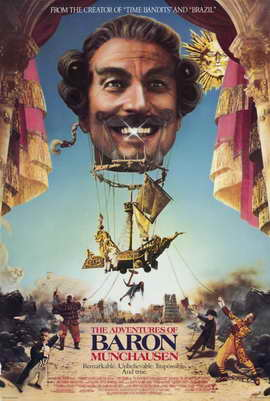 The Adventures of Baron Munchausen - 11 x 17 Movie Poster - Style A