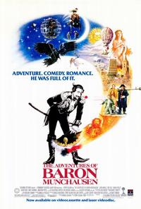 The Adventures of Baron Munchausen - 27 x 40 Movie Poster - Style B
