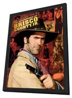 The Adventures of Brisco County Jr. - 27 x 40 Movie Poster - Style A - in Deluxe Wood Frame