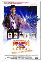 The Adventures of Buckaroo Banzai Across the Eighth Dimension - 27 x 40 Movie Poster - Style A