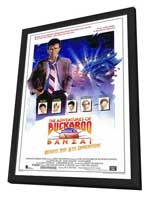 The Adventures of Buckaroo Banzai Across the Eighth Dimension - 27 x 40 Movie Poster - Style A - in Deluxe Wood Frame
