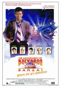The Adventures of Buckaroo Banzai Across the Eighth Dimension - 43 x 62 Movie Poster - Bus Shelter Style A