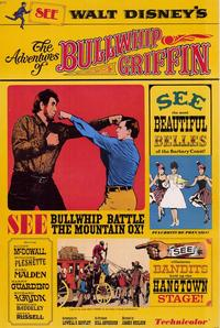 The Adventures of Bullwhip Griffin - 11 x 17 Movie Poster - Style A