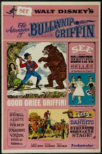 The Adventures of Bullwhip Griffin - 27 x 40 Movie Poster - Style B