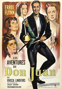 The Adventures of Don Juan - 43 x 62 Movie Poster - French Style A