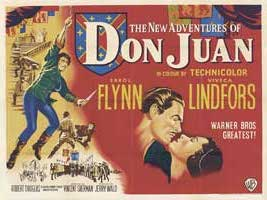 The Adventures of Don Juan - 30 x 40 Movie Poster UK - Style A