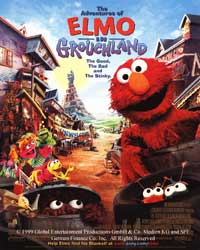 The Adventures of Elmo in Grouchland - 43 x 62 Movie Poster - Bus Shelter Style A