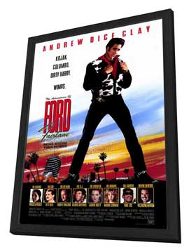 The Adventures of Ford Fairlane - 27 x 40 Movie Poster - Style A - in Deluxe Wood Frame