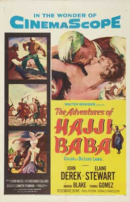 The Adventures of Hajji Baba - 27 x 40 Movie Poster - Style A
