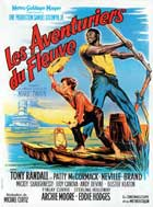 The Adventures of Huckleberry Finn - 11 x 17 Movie Poster - French Style A