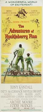The Adventures of Huckleberry Finn - 14 x 36 Movie Poster - Insert Style A