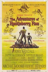 The Adventures of Huckleberry Finn - 27 x 40 Movie Poster - Style A