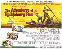 The Adventures of Huckleberry Finn - 22 x 28 Movie Poster - Half Sheet Style A