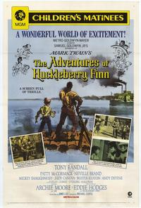 The Adventures of Huckleberry Finn - 27 x 40 Movie Poster - Style B