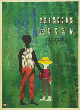 The Adventures of Huckleberry Finn - 27 x 40 Movie Poster - Polish Style A