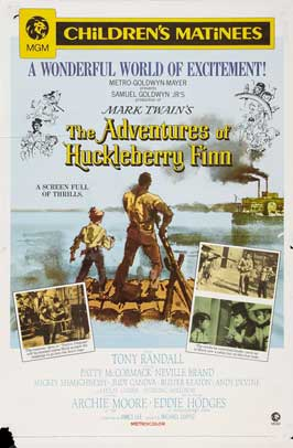 The Adventures of Huckleberry Finn - 11 x 17 Movie Poster - Style B