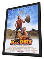The Adventures of Joe Dirt - 11 x 17 Movie Poster - Style B - in Deluxe Wood Frame