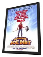 The Adventures of Joe Dirt - 27 x 40 Movie Poster - Style A - in Deluxe Wood Frame