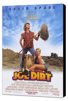 The Adventures of Joe Dirt - 11 x 17 Movie Poster - Style B - Museum Wrapped Canvas