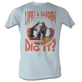 The Adventures of Joe Dirt - Dig It! Light Blue T-Shirt