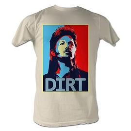 The Adventures of Joe Dirt - Obama Painting Tan T-Shirt