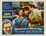 The Adventures of Marco Polo - 11 x 14 Movie Poster - Style C