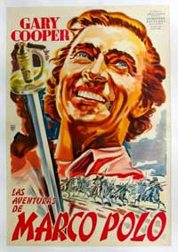 The Adventures of Marco Polo - 11 x 17 Movie Poster - Style B