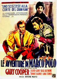 The Adventures of Marco Polo - 11 x 17 Movie Poster - French Style B