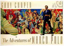 The Adventures of Marco Polo - 22 x 28 Movie Poster - Half Sheet Style A