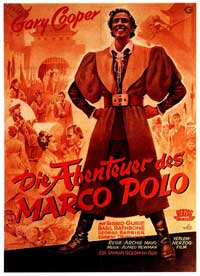 The Adventures of Marco Polo - 11 x 17 Movie Poster - German Style A