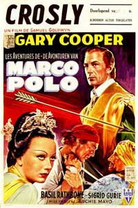 The Adventures of Marco Polo - 11 x 17 Movie Poster - French Style C
