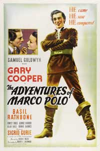 The Adventures of Marco Polo - 43 x 62 Movie Poster - Bus Shelter Style A