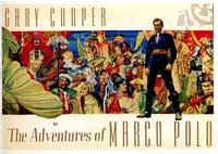 The Adventures of Marco Polo - 11 x 17 Movie Poster - Style D