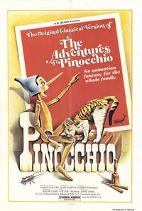 The Adventures of Pinocchio - 27 x 40 Movie Poster - Style A