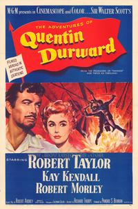 The Adventures of Quentin Durward - 11 x 17 Movie Poster - Style B
